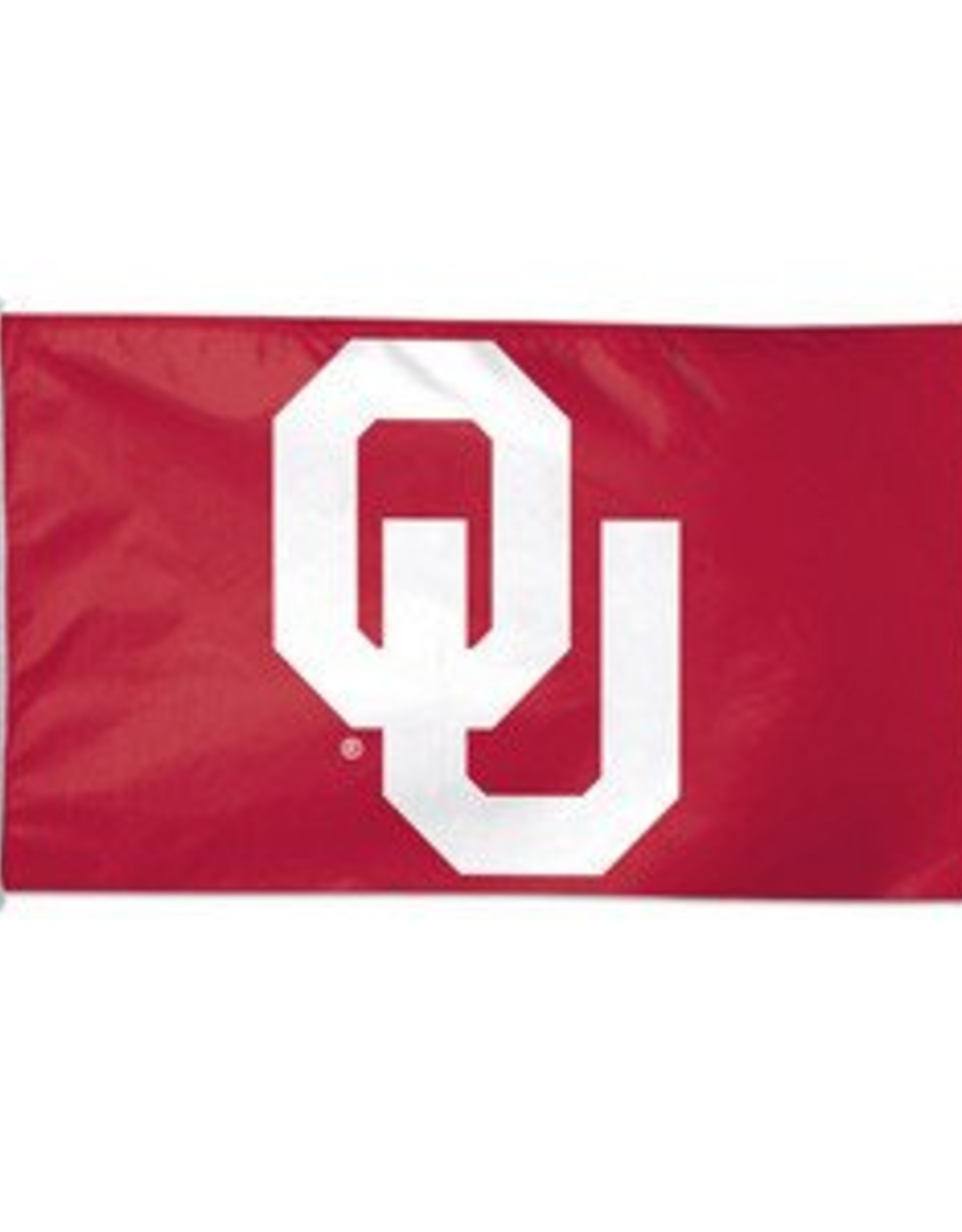 Sewing Concepts OU Crimson/White 3'x5' Applique  Flag (A)