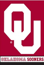 "BSI OU Oklahoma Sooners Premium Two-sided Banner (28""x40"")"