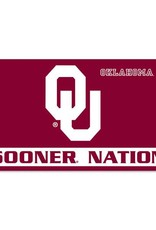 BSI Sooner Nation Premium 3'x5' Flag (I)