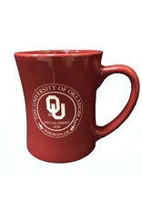 RFSJ Crimson Etched OU Medallion Coffee Mug