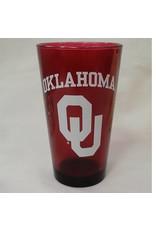 RFSJ Crimson Oklahoma OU Pint Glass