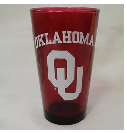 RFSJ Crimson Oklahoma OU Pint Glass