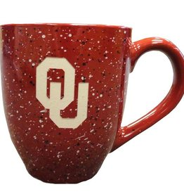 LXG Crimson Speckled OU Coffee Mug