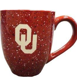 LXG Crimson Speckled OU Coffee Mug