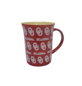 The Memory Company Crimson Step And Repeat OU Coffee Mug