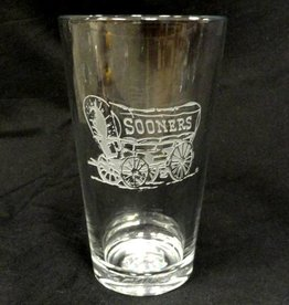 RFSJ Etched Schooner Pint Glass