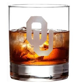 RFSJ OU Etched 14oz Whiskey Glass