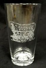CSI Schooner Etched Pint Glass