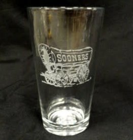 CSI Schooner Etched Pint Glass