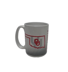 Jenkins OU State Outline Coffee Mug