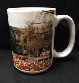 RFSJ The University of Oklahoma Full Color Library Coffee Mug