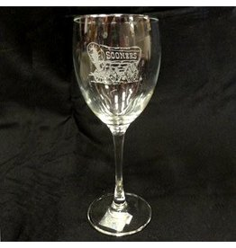 RFSJ Schooner Etched Wine Glass 12oz