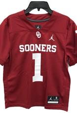 Jordan Toddler Jordan Brand #1 Sooners Football Jersey