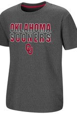 Colosseum Youth Junior Oklahoma Sooners OU Tee