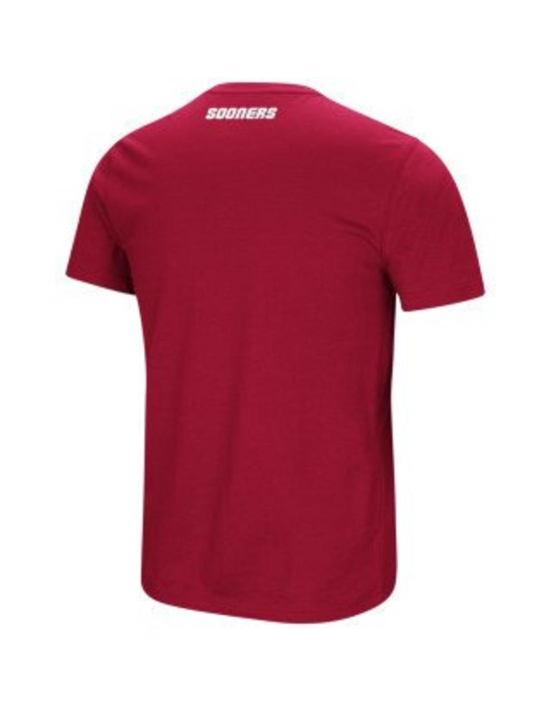 Colosseum Men's Oklahoma Water Boy Dual Blend Tee (Big)