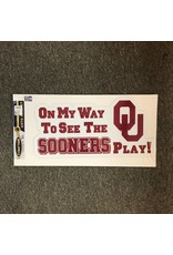 Craftique Craftique On My Way To See Sooners Magnet