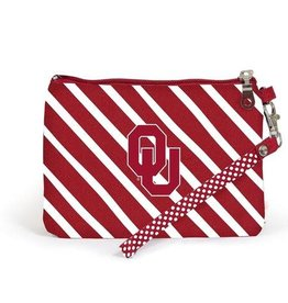 Desden Desden Striped Wristlet