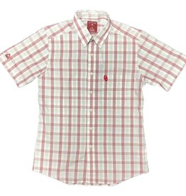 Antigua Men's Antigua Crew Short Sleeve OU Dress Shirt