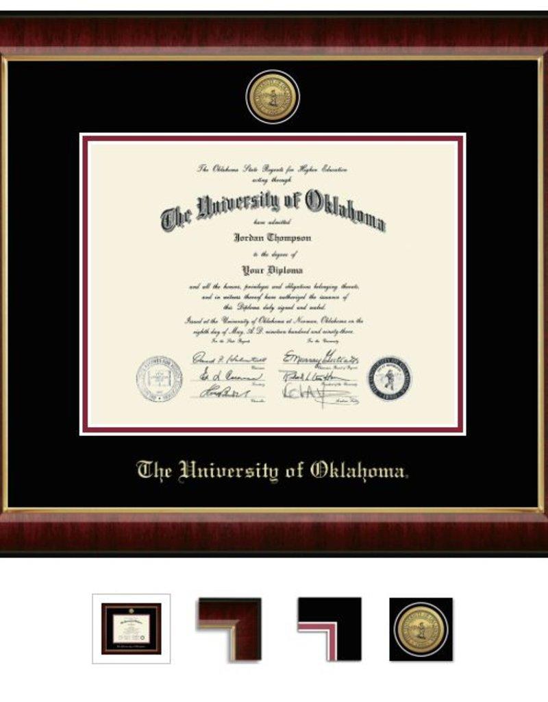 Church Hill Church Hill Engraved Murano Diploma Frame Bachelor's/Master's