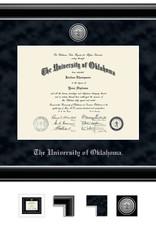 Church Hill Church Hill Engraved Onyx Silver Diploma Frame Bachelor's/Master's
