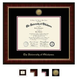 Church Hill Church Hill Engraved Murano Diploma Frame Ph.D