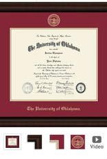 Church Hill Church Hill Embossed Lenox Diploma Frame Ph.D