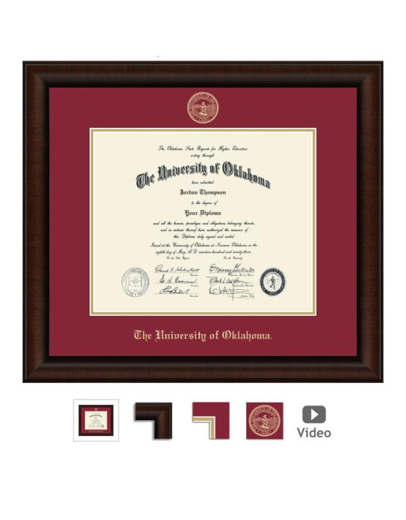 Church Hill Church Hill Embossed Lenox Diploma Frame Ph.D