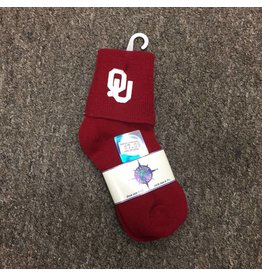 Creative Knitwear OU Crimson Anklet Children's Sock Size 6-7.5