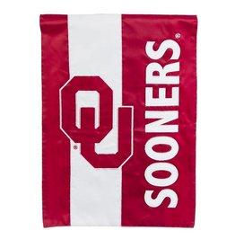 "Team Sports America OU Sooners Applique Embellised Garden Flag 12.5"" x 18"""