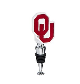 Team Sports America OU Wine Bottle Stopper