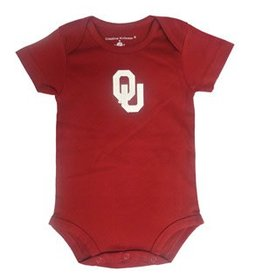 Two Feet Ahead Infant Two Feet Ahead Crimson Onesie with Snap Closure