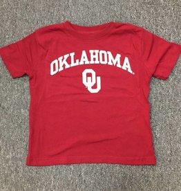 Little King Toddler Oklahoma OU Cotton Tee Crimson