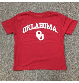 Little King Toddler Oklahoma OU Cotton Tee Crimson