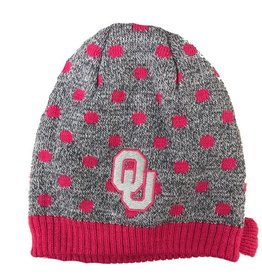 Top of the World TOW Toddler Pink Polka Dot Beanie