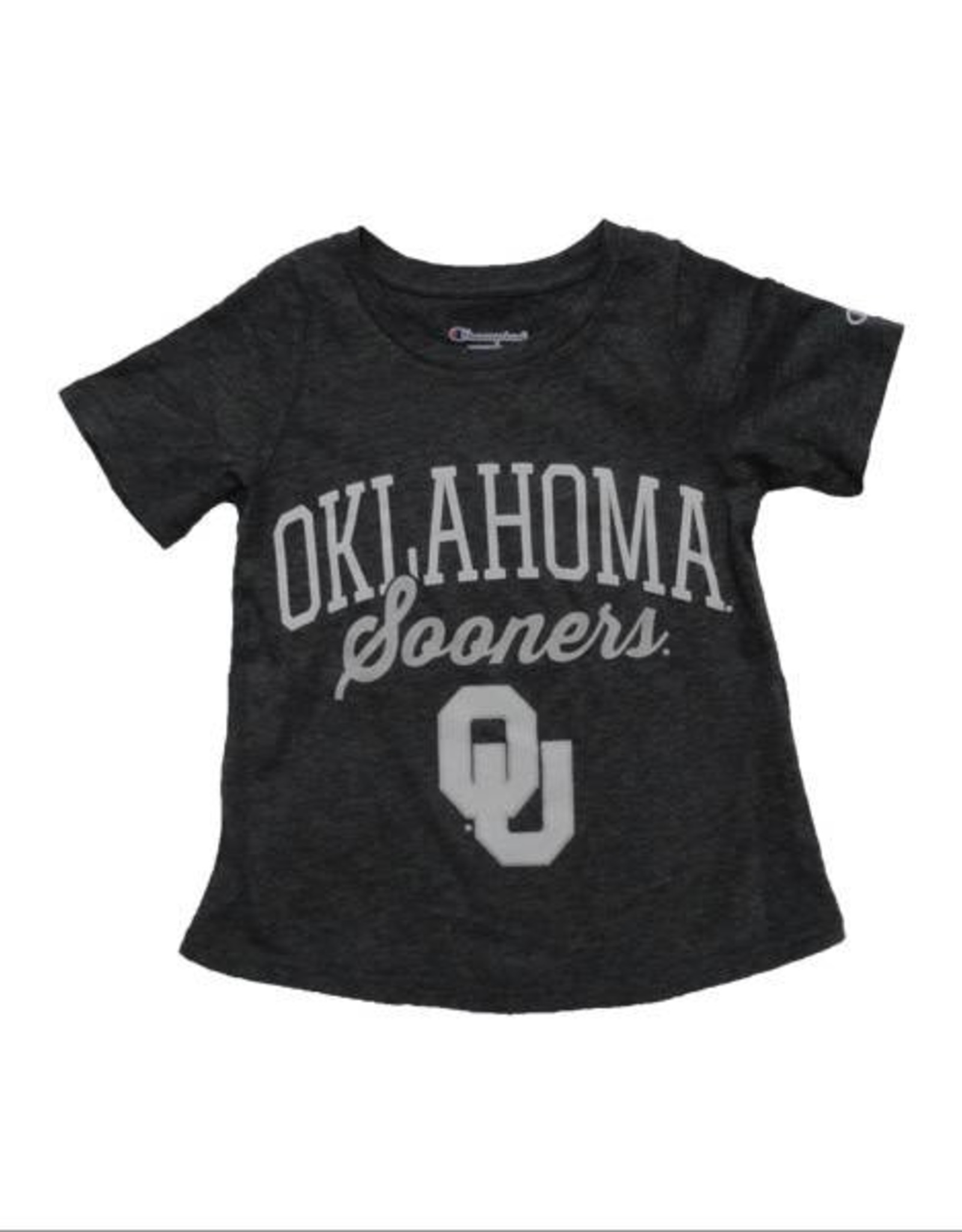 Champion Youth Champion Oklahoma Sooners Grey Tee