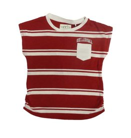 Garb Youth Garb Staci Striped Pocket Tee