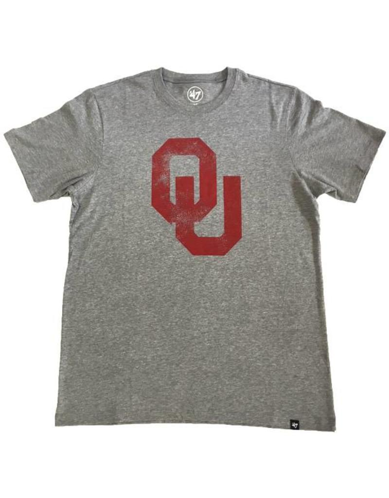 '47 Brand '47 Brand Distressed OU Tee