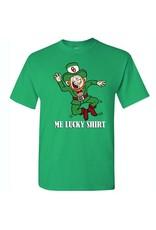 "Gildan 2018 St. Patrick's Day ""Me Lucky Shirt"" Tee"