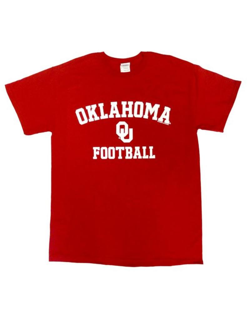 Gildan Basic Cotton Tee Oklahoma Football Crimson