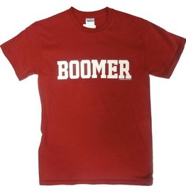 "Gildan Basic Cotton""Boomer"" Front ""Sooner"" Back Tee"