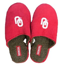 Collegiate Footwear Men's Corded Style Slippers