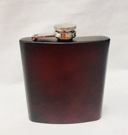 LXG LXG Crimson 6oz Old Fashioned Flask/Blank
