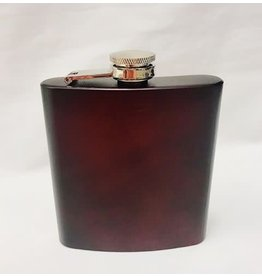 LXG LXG Crimson 6oz Old Fashioned Flask/Blank