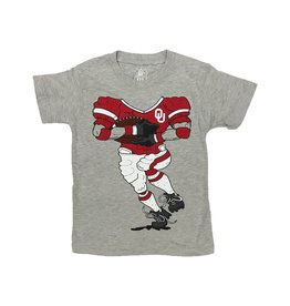 Wes & Willy Toddler Wes and Willy Football Player Tee
