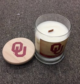 Worthy OU Linen Scented Candle with Lid