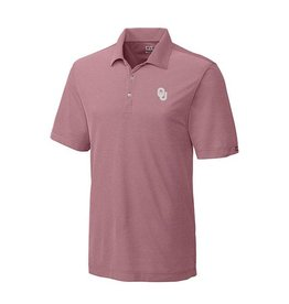 Cutter & Buck Cutter & Buck Blaine Polo Heathered Crimson