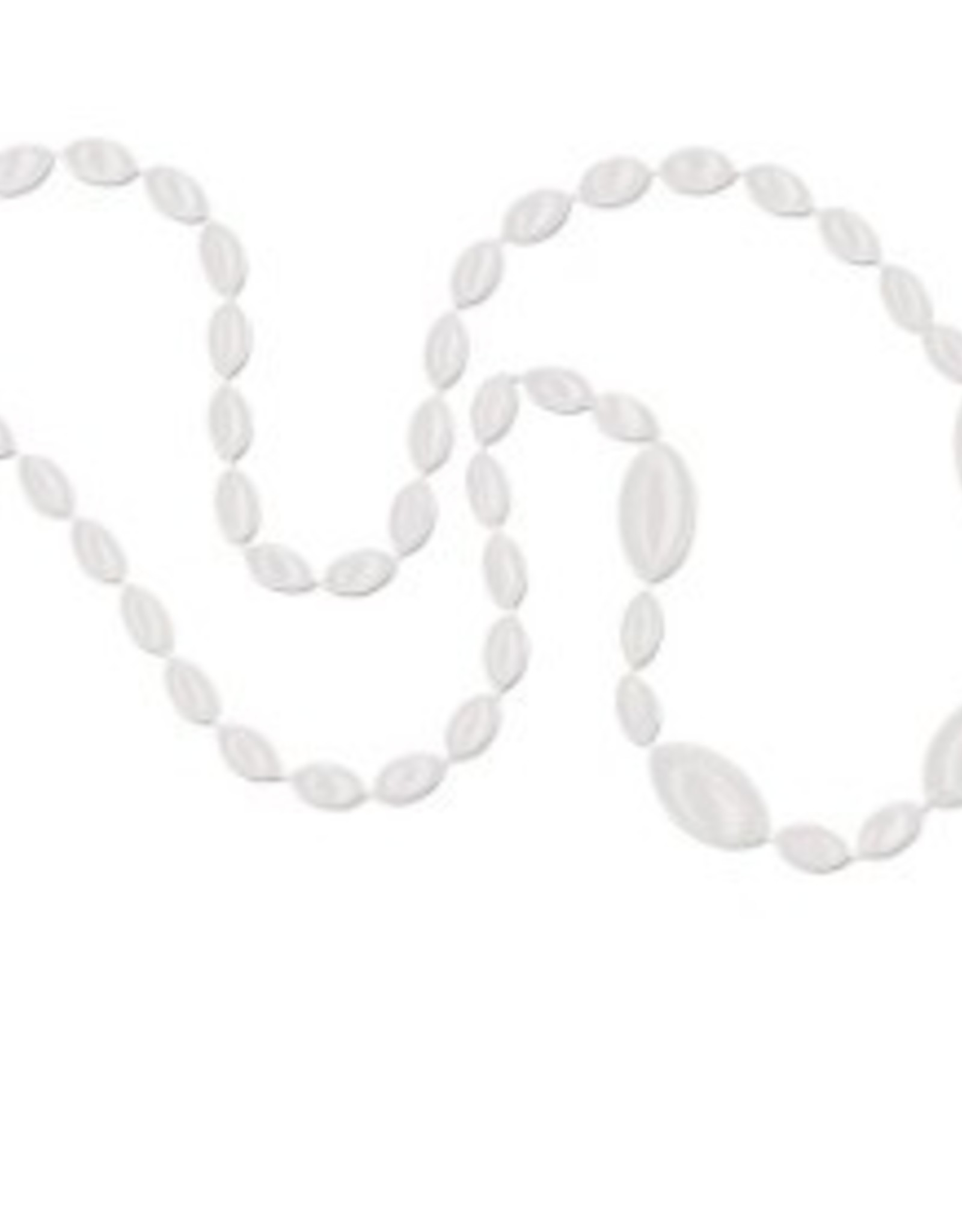 Sport Beads White Football Beads