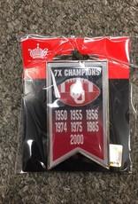 Aminco Aminco Championship Banner Lapel Pin