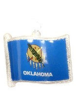 Topperscott Oklahoma Flag Ornament