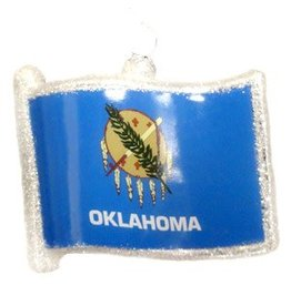 Topperscott Oklahoma Flag Ornament